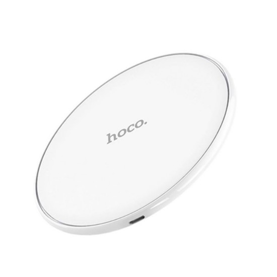 Hoco Fast Transmissiom Wireless Rapid Charger CW6 white
