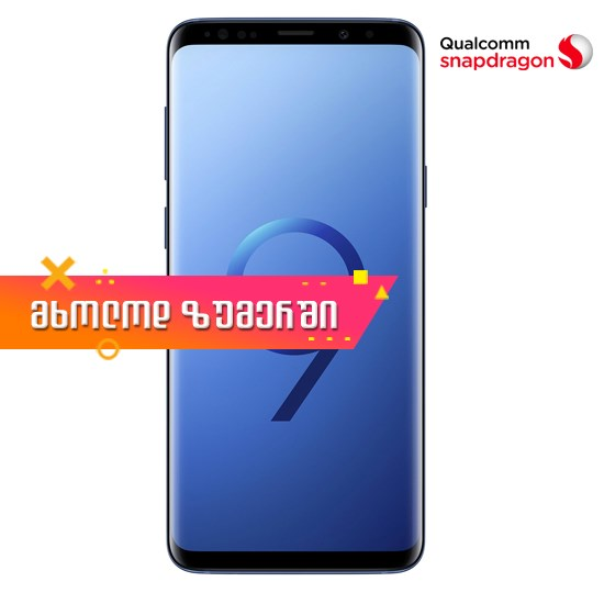 Samsung Galaxy S9+ Snapdragon Version Dual Sim 6GB RAM 64GB LTE G9650/DS Blue